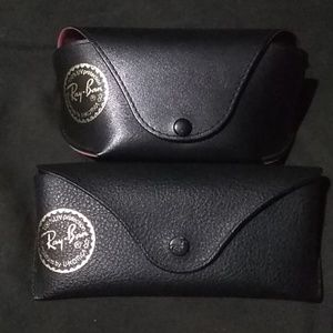 2 Ray Ban cases